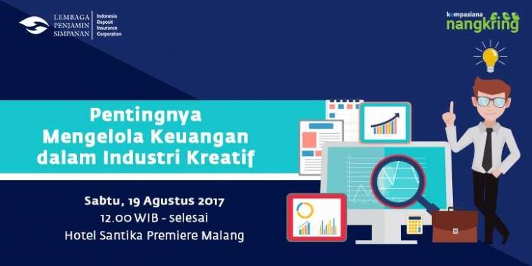 Ayo, Nangkring di Kota Malang Sambil Belajar Kelola Keuangan!