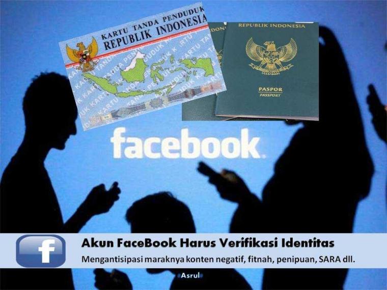 Akun FaceBook Harus Verifikasi Identitas