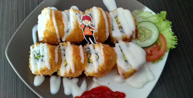 Pesta Rasa dengan Sushi Crispy dan Ocha Freeze