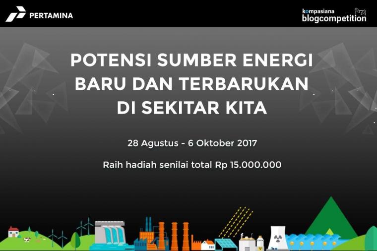 Bagikan Cerita Pengalaman atau Ide Sumber Energi Baru dan Terbarukan di Sekitarmu!