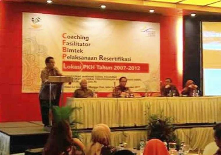 Lain Sisi: Coaching Fasilitator Resertifikasi PKH, Evaluasi Keberhasilan Program