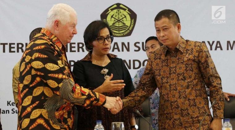 Behind The Scene Dibalik Drama Pelepasan 51% Saham PT Freeport ke Indonesia