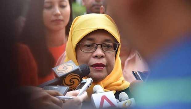 Halimah Yacob, Perempuan Melayu Pertama yang Menjadi Presiden Singapura