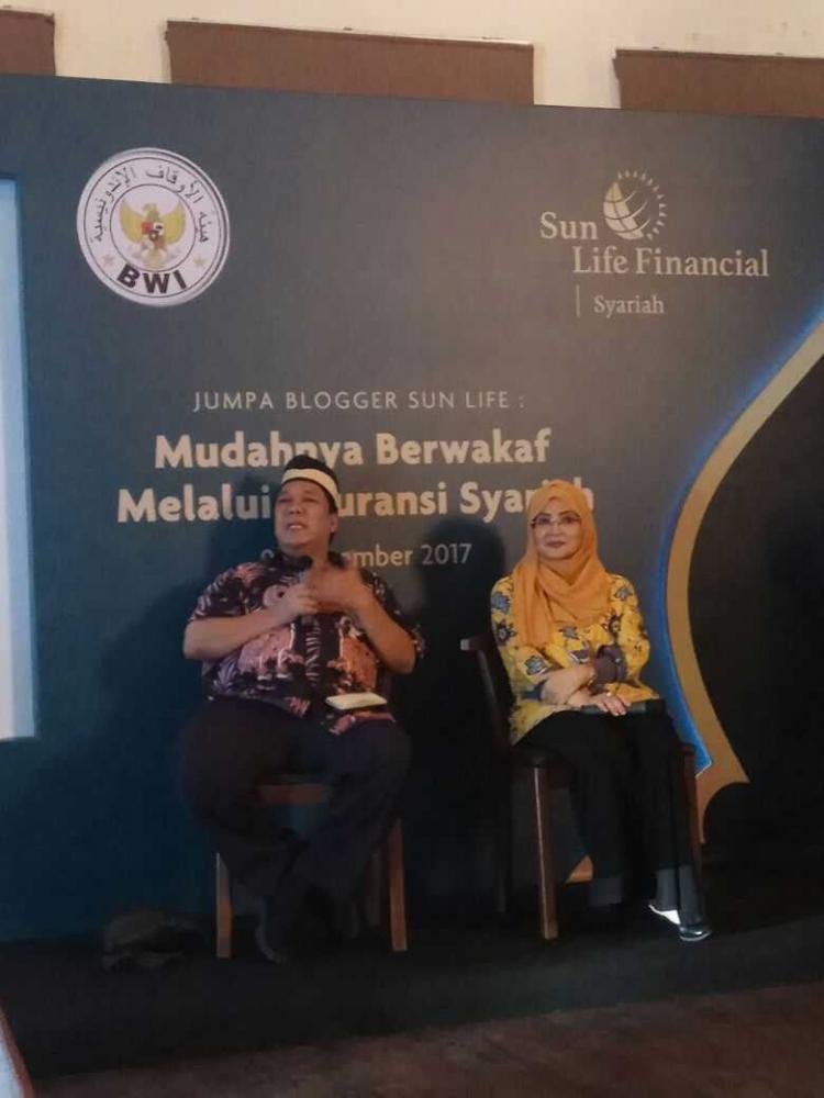 Berwakaf Melalui Manfaat Asuransi Syariah Sun Life