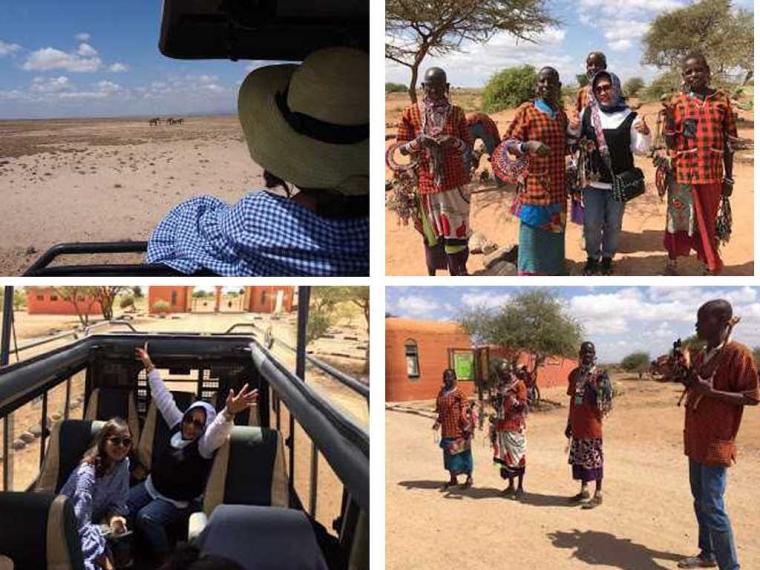 Sehari di Amboseli National Park, Kenya
