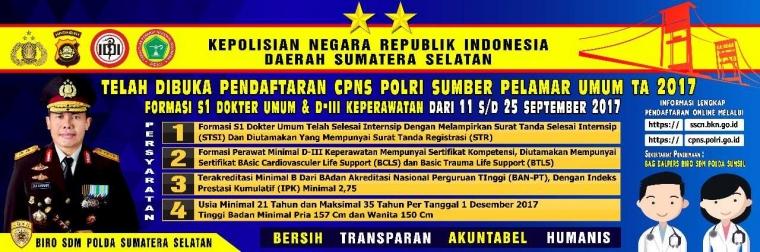 Kapolres Mura: Telah Dibuka Pendaftaran CPNS Polri Tahun 2017