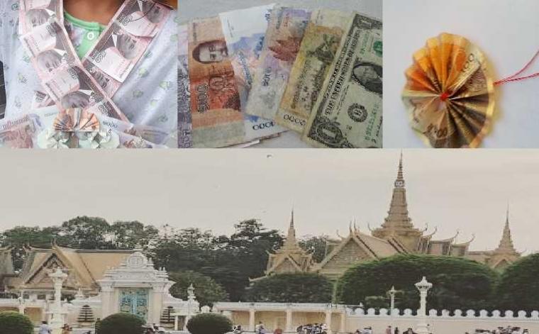 Diberi Uang Tanda Perpisahan di Kamboja