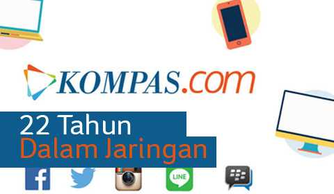 22 TAHUN KOMPAS.COM