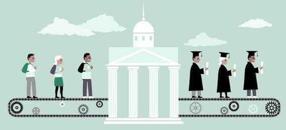 Kuliah Bukan Penjamin Kesuksesan Seseorang