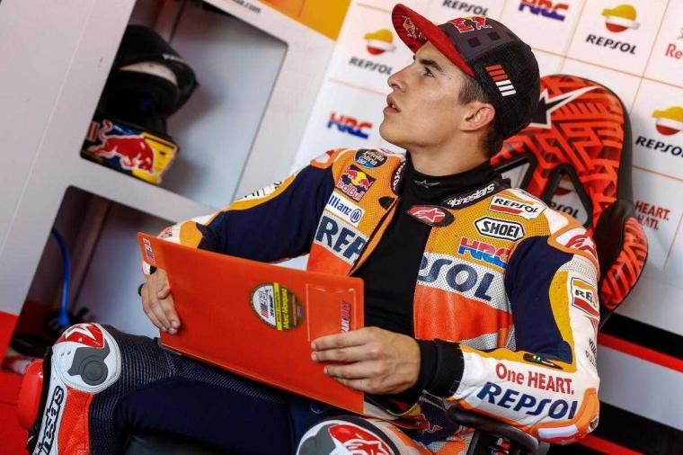 """Marquez Juara MotoGP Aragon, Rossi """"Comeback"""" dan Finis Kelima"""