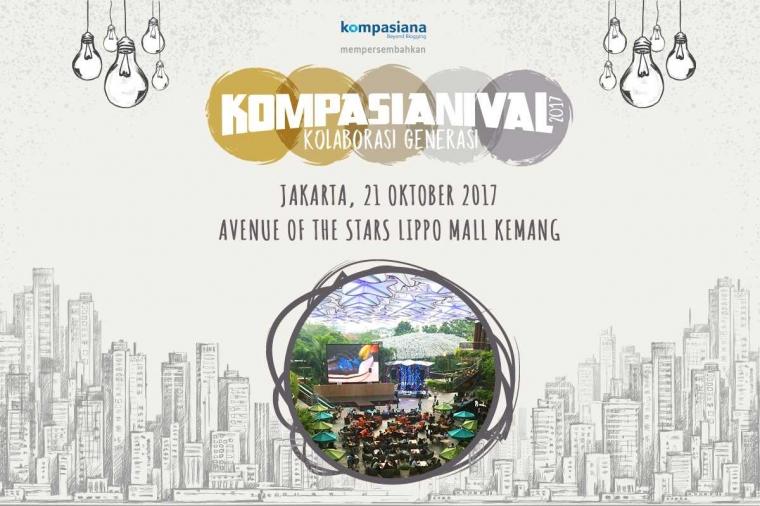 Kompasianival 2017 Pindah Ke Lippo Mall Kemang!