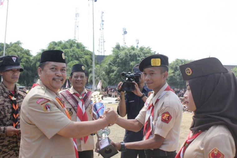 SAKA Bhayangkara Tergiat I di Banjarnegara