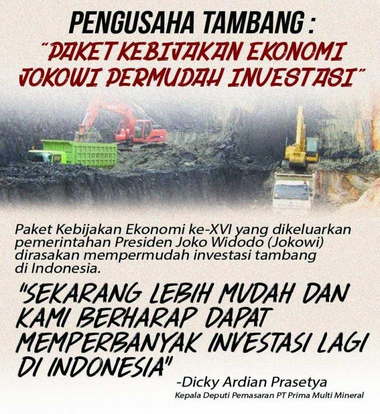 Paket Kebijakan Ekonomi Mempermudah Investasi di Indonesia