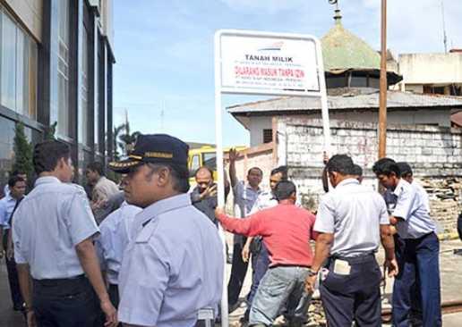 Tercatat Hampir Rp 250 Juta Tunggakan Sewa PT. BASKO Minang Plaza kepada PT. KAI di Tahun 2010