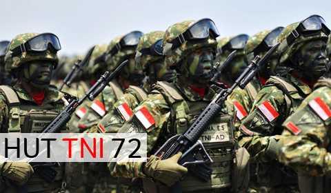 HUT TNI 72