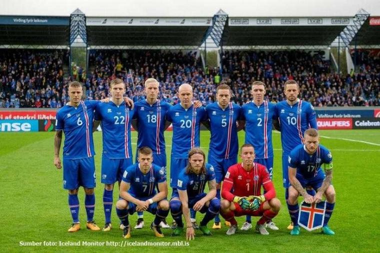 Islandia: Modal 330 Ribu Bisa ke Piala Dunia