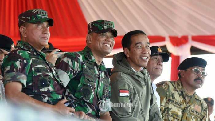 Pasang Surut Simpati pada TNI