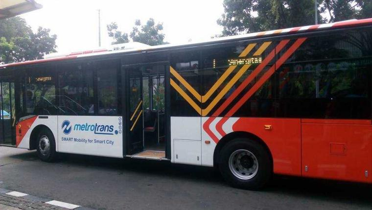 Begini Tampilan Bis Pengganti Metro Mini