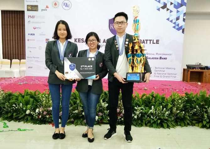 Tim Akuntansi UPH Sabet Juara 2 Olimpiade Akuntasi Tingkat Nasional