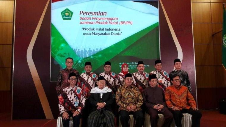 Badan Penyelenggara Jaminan Produk Halal (BPJPH) Diresmikan Kementerian Agama sebagai Badan Sertifikasi Halal