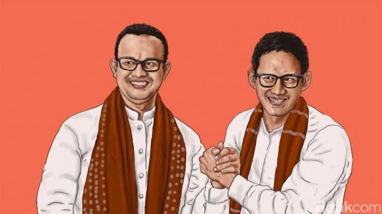 Selamat Datang Pemimpin Baru Jakarta: Anies Baswedan-Sandiaga Salahuddin Uno
