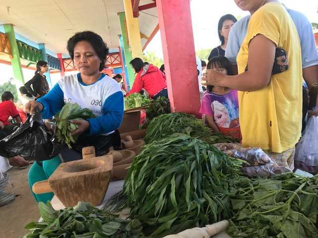 Mengenal Wanita-wanita Tangguh di Pasar Inai