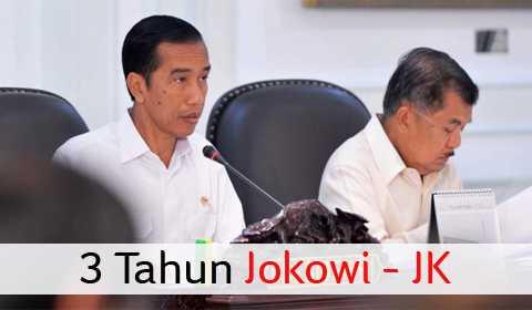 3 TAHUN JOKOWI - JK