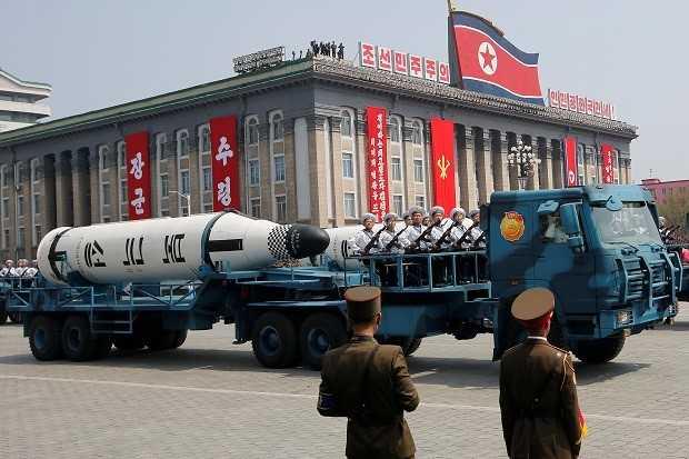 Peluru Kendali Balistik Antarbenua Korea Utara