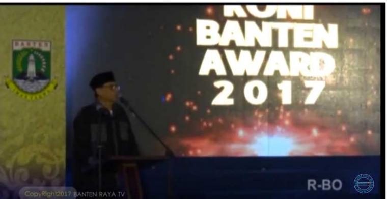 Kemeriahan KONI Banten Award 2017
