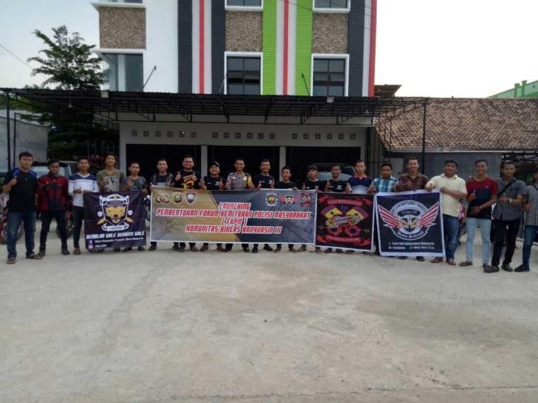 Brifka Febri: Terbentuknya FKPM Bisa Mengkoordinir Klub Motor di Banyuasin