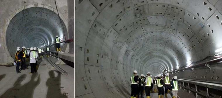 Mandi Keringat di Kedalaman 20 Meter Bawah Tanah, Stasiun MRT