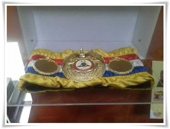 Sabuk Juara Tinju Chris John Menjadi Primadona di Museum Olahraga Nasional