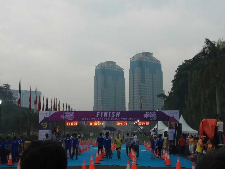 Mandiri Jakarta Marathon 2017 dan Pantulan Gaya Hidup Kaum Urban