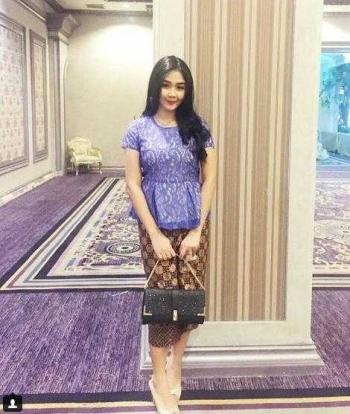 Model Rok Batik Span Wanita Modis Oleh Daniar Murdi Kompasiana Com