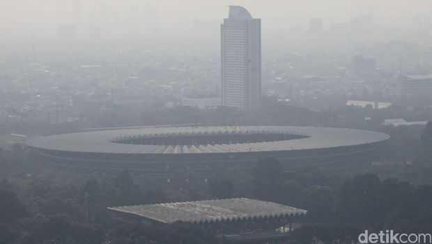 Polusi Udara Jakarta Mengancam Asian Games 2018