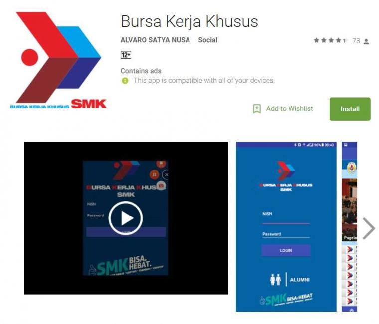 Panduan Aplikasi Bursa Kerja Khusus (BKK) Online untuk Alumni SMK