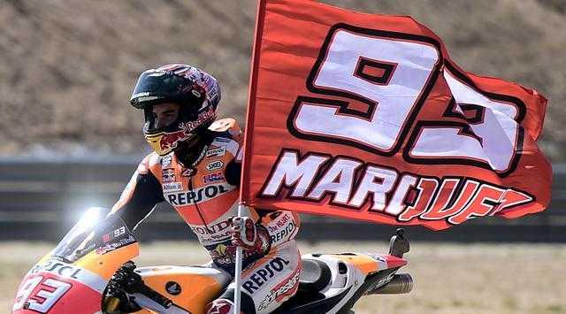 Hanya Takdir Aspal yang Bisa Membuat Marquez Gagal Juara
