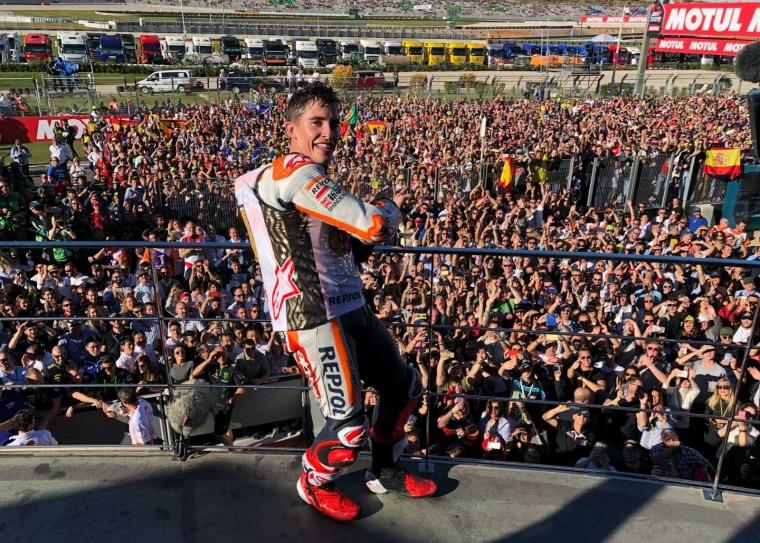 Pedrosa Menang MotoGP Valencia, Marquez Juara Dunia