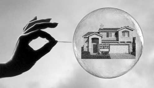 Penjualan Rumah Semua Tipe Capai Titik Terendah, Housing Bubble?