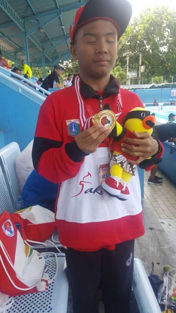 Atlet Disabilitas Netra DKI Jakarta Torehkan Medali Paralimpik