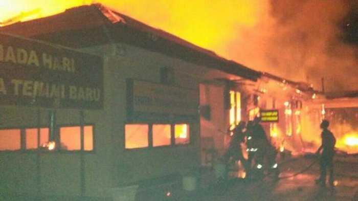 Pembakaran Mapolres Dharmasraya Bukti Teroris Terus Bekerja