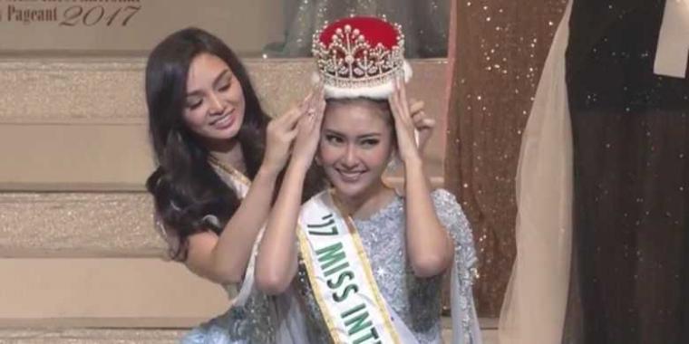 Wakili Indonesia, Kevin Lilliana Jadi Juara Miss International 2017