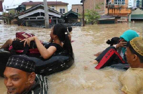 Dana untuk Tanjung Balai di Tengah Bencana Banjir