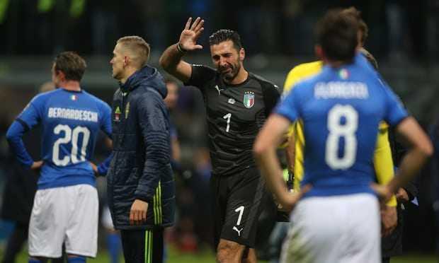 Air Mata Buffon dan Italia Sang Raksasa Terluka
