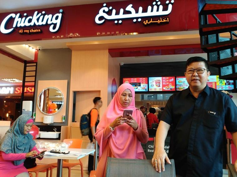 Nikmatnya Ayam Top Dubai di Chicking Plaza Surabaya