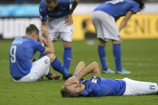 Resmi, Piala Dunia 2018 Tanpa Italia