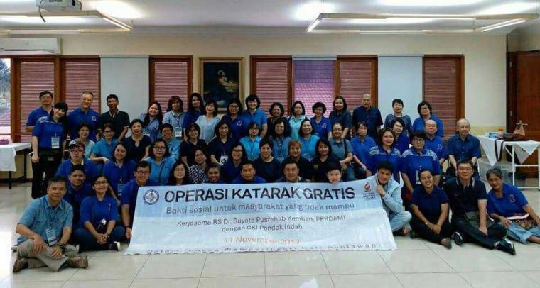 "Melayani Pasien Katarak dengan Bakti Sosial ""Katarak"""