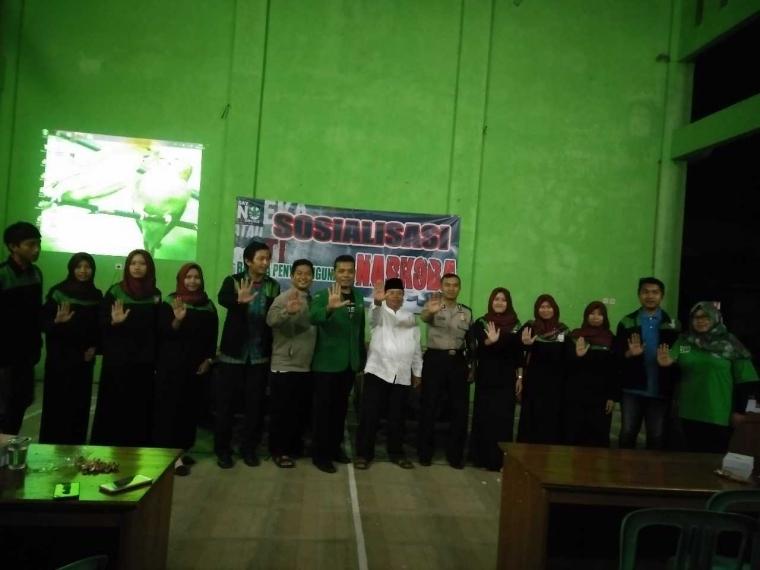 KKN UNNES 2017 Gandeng Karang Taruna Jegal Narkoba
