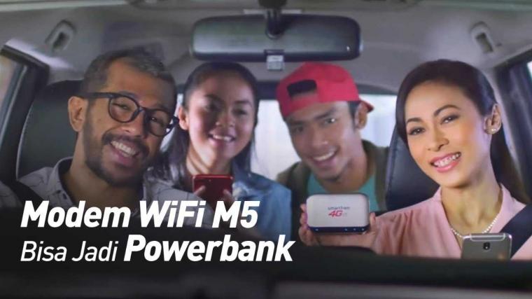 Hidup Lebih Mudah dengan Modem Terbaru, WiFi M5