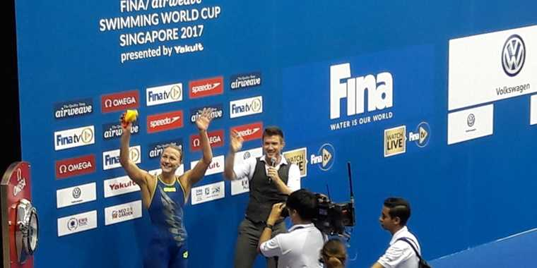 Sarah Sjostrom Juara Dunia Putri Fina Swimming World Cup Series 2017